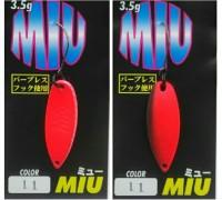 Блесна колеблющаяся Forest Miu 3,5 гр цвет 11